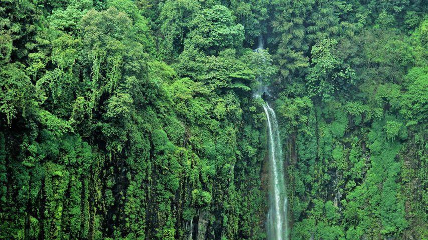 Thoseghar Waterfalls in Maharashtra, India