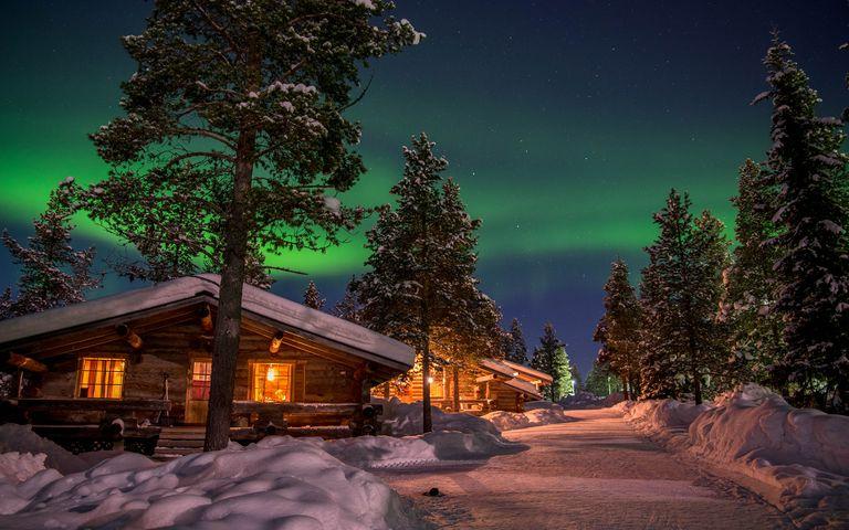 Warm Winter Nights Theme for Windows 10