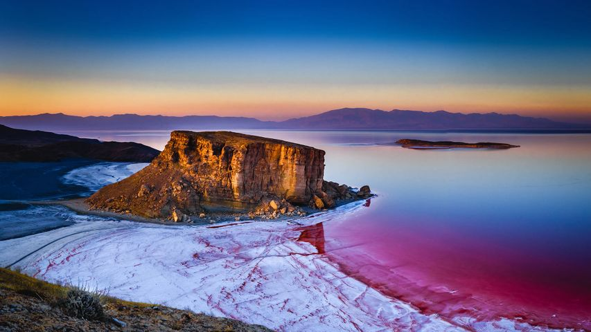 Kazem Dashi, Lake Urmia, Iran