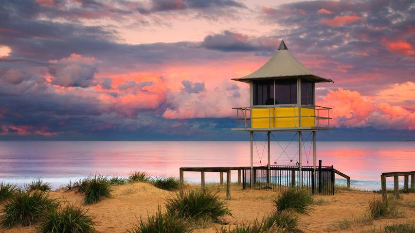 「ライフガード・タワー」オーストラリア, ニューサウスウェールズ州