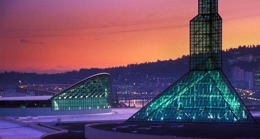 L'Oregon Convention Center à Portland, Oregon, États-Unis