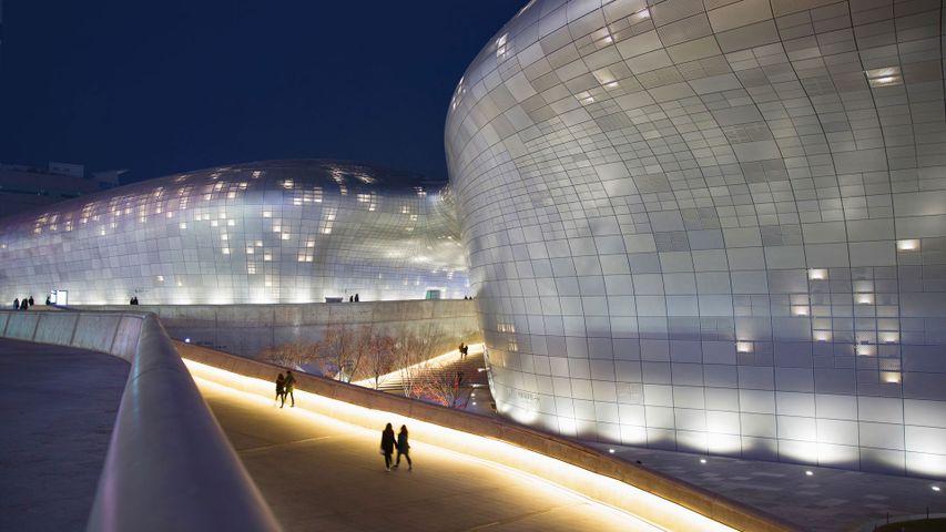 「東大門デザインプラザ」韓国, ソウル