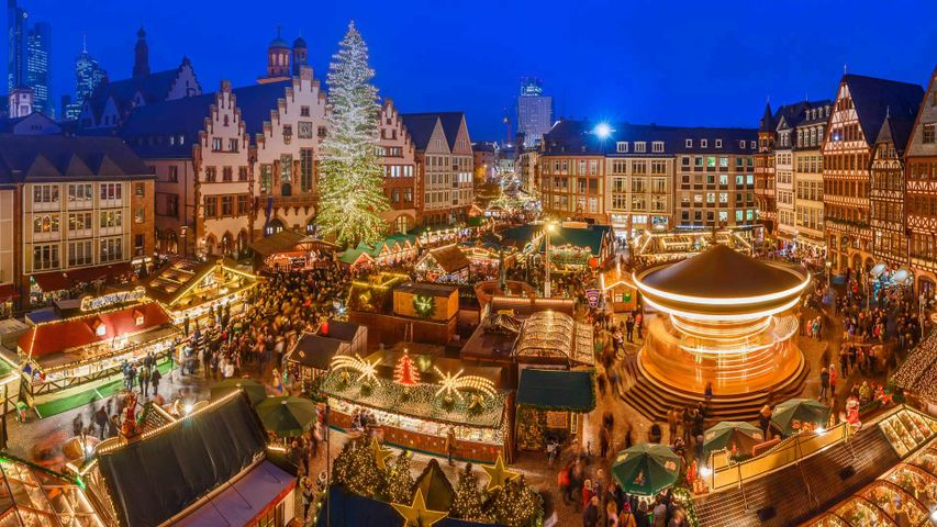 The Frankfurt Christmas Market in Germany is open now