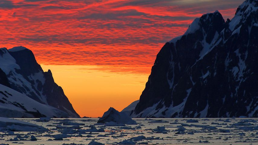 A view of our southernmost continent for Antarctica Day