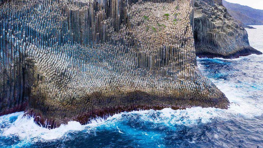 Formación basáltica de Los Órganos, La Gomera, Islas Canarias
