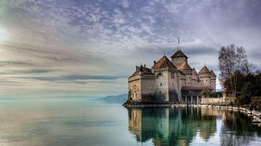 Château de Chillon au bord du lac Léman, Suisse