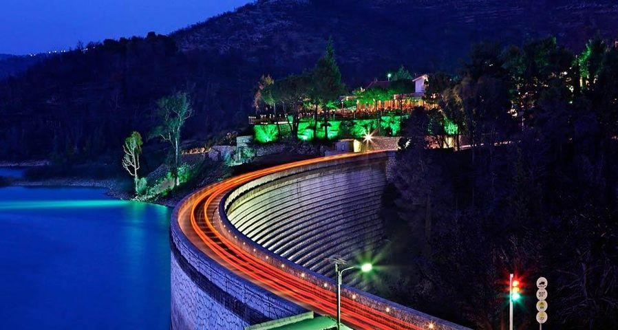 Marathon Dam and Lake, Attica, Greece