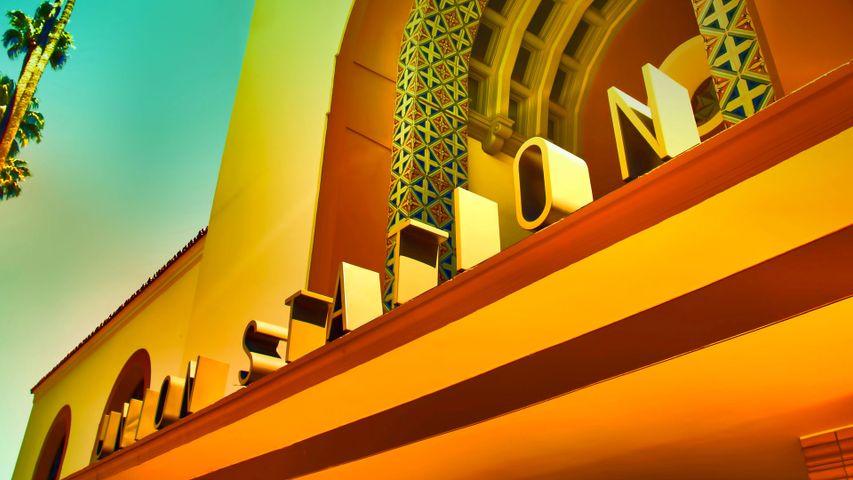 Los Angeles Union Station, California, USA