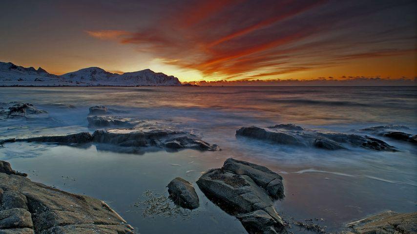 Skagsanden, Lofoten Islands, Norway