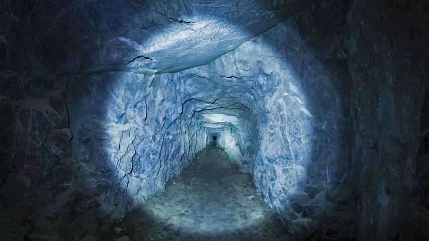 Tunnel in Yosemite National Park, California, USA