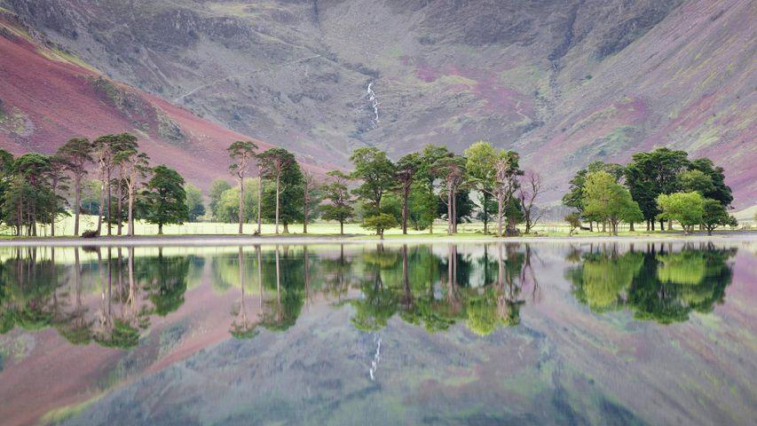 Buttermere-See im Lake District, Grafschaft Cumbria, England, Großbritannien