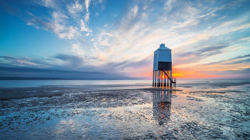 Burnham-on-Sea Low lighthouse in Somerset