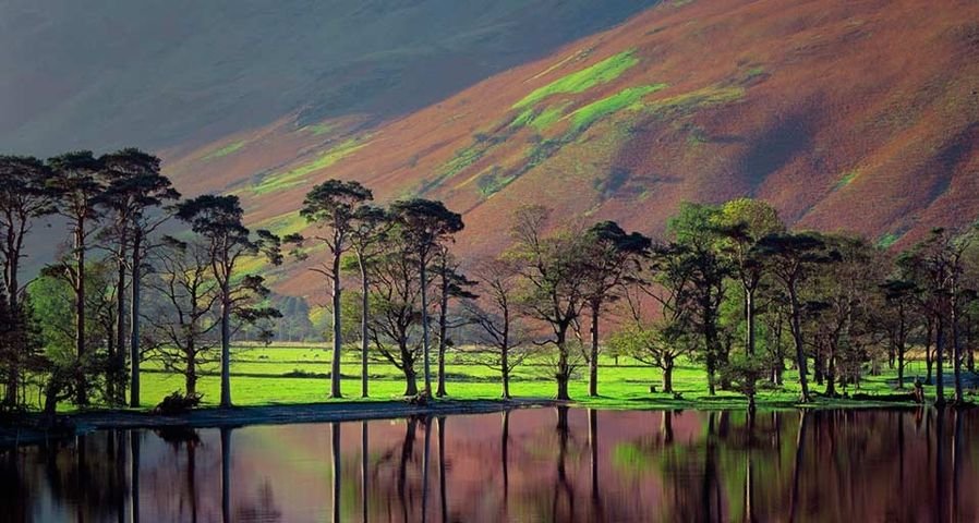 Buttermere, Cumbria in the Lake District of England, UK