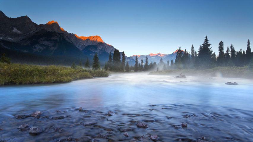 Elk River in the East Kootenays of British Columbia, Canada