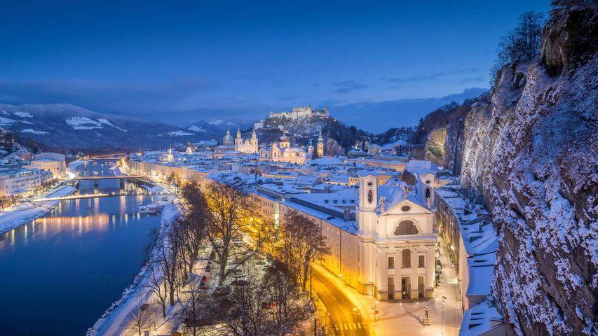 Salzburg, Austria, for the 200th anniversary of the classic carol