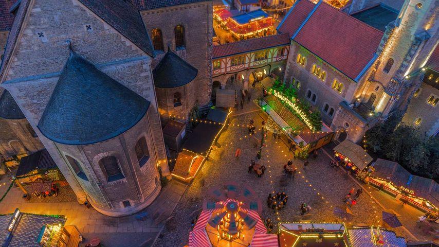 德国,不伦瑞克的圣诞市场