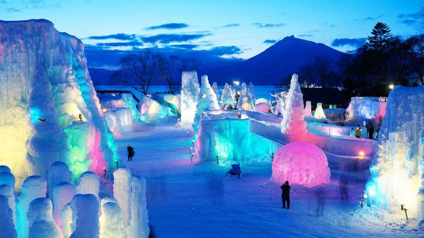 「支笏湖氷濤まつり」北海道, 千歳市