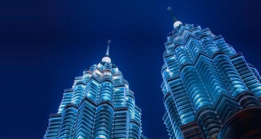 Petronas Twin Tower  in Kuala Lumpur, Malaysia