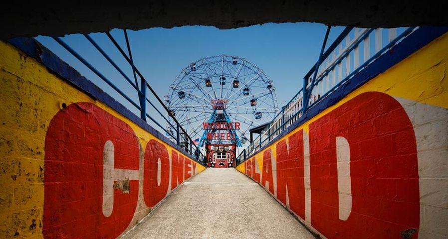 Riesenrad auf Coney Island, New York City, USA – Ed Freeman/Getty Images ©