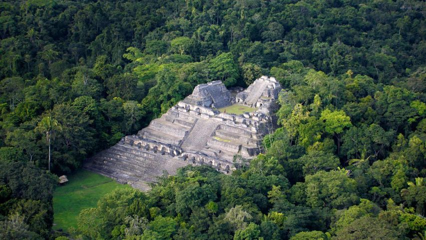 Maya archaeological site of Caracol, Belize