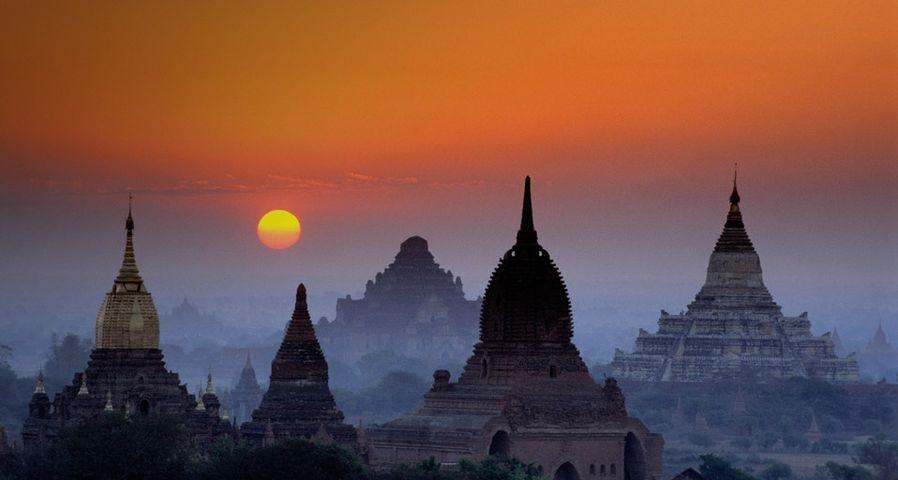 缅甸古城蒲甘