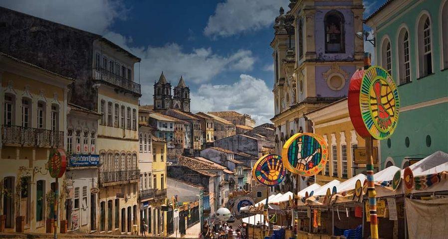 巴西萨尔瓦多市的嘉年华