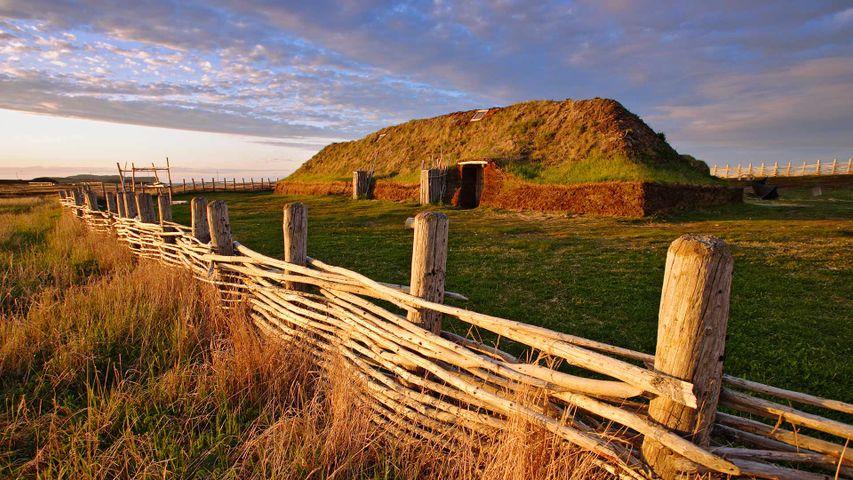 L'Anse aux Meadows National Historic Site, St-Lunaire-Griquet, Newfoundland