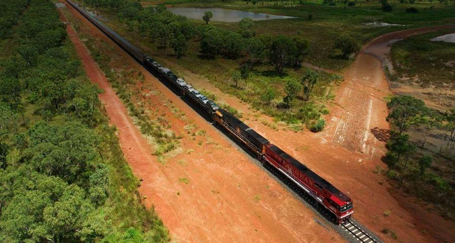Ghan Train in Australia