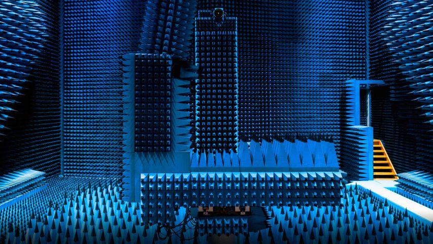 丹麦,哥本哈根的微波暗室