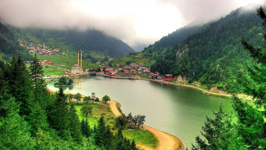 土耳其特拉布宗,乌宗湖(长湖)