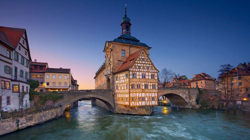 Altes Rathaus, Bamberg, Bayern, Deutschland