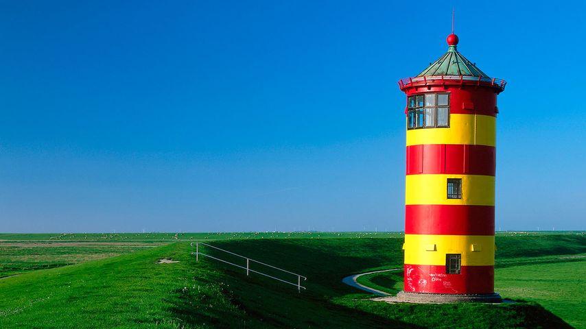 Pilsumer Leuchtturm, Pilsum, Niedersachsen, Deutschland
