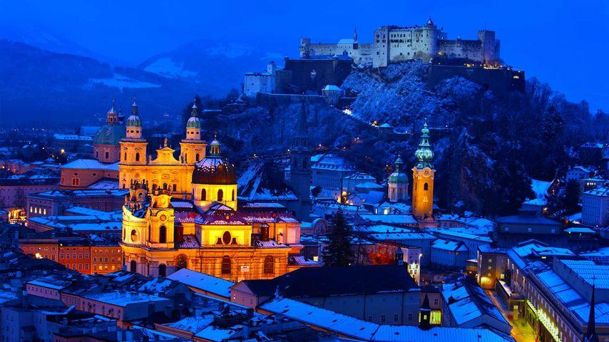 Old Town in Salzburg, Austria