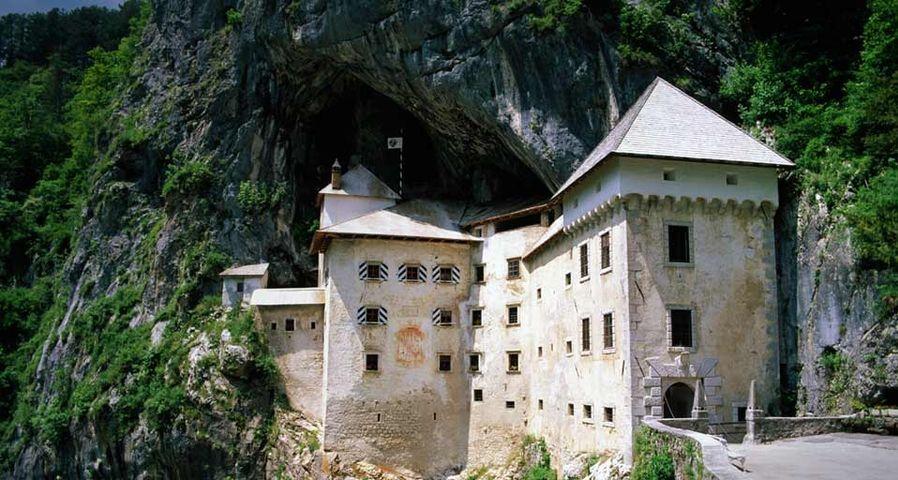 Predjama Castle, near the town of Postojna, Slovenia