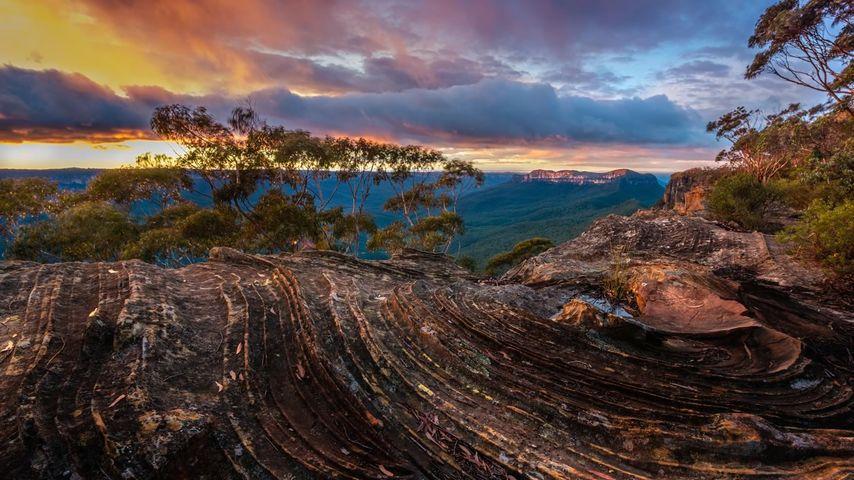 Narrow Neck Plateau, Blue Mountains, NSW, Australia