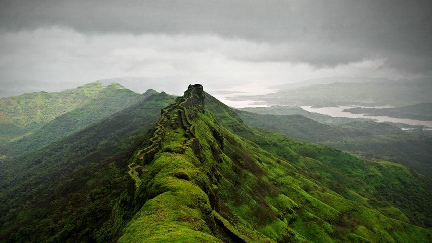 Rajgad Fort near Pune, India