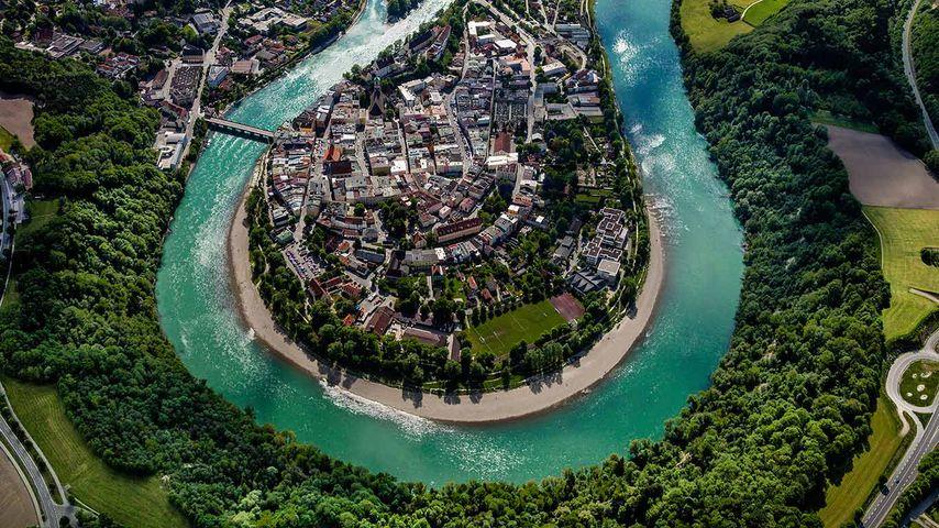 Wasserburg am Inn, Bayern, Deutschland