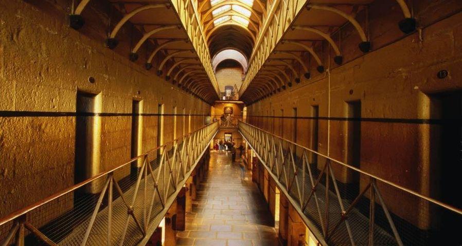 Inside Old Melbourne Gaol
