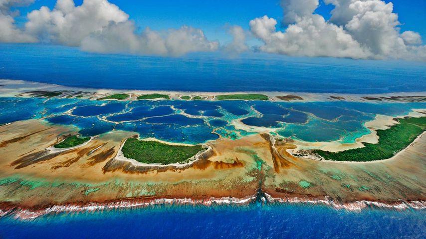 基里巴斯,加罗林环礁