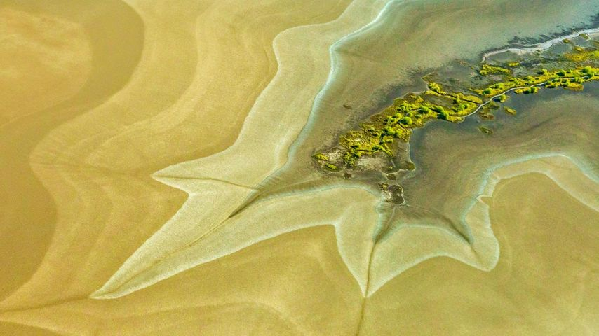 King River tidal flats near Wyndham, Australia