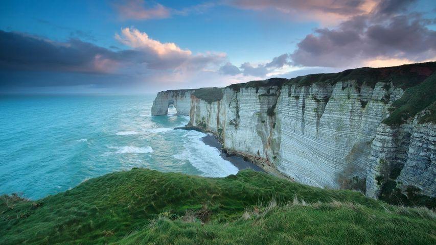 Étretat in Normandy, France