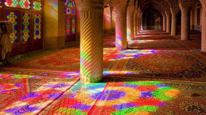 「ナシール・アルムルク・モスク」イラン, シーラーズ