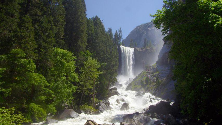 Vernal Fall at Yosemite National Park, California