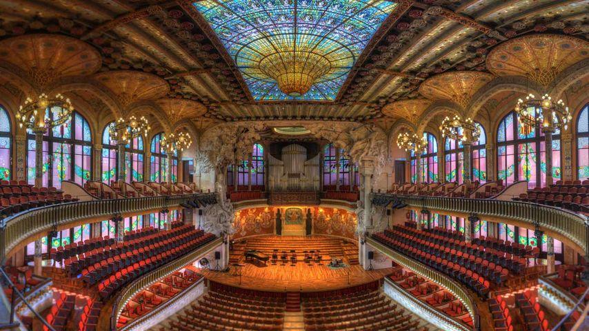 加泰罗尼亚音乐厅,西班牙巴塞罗那