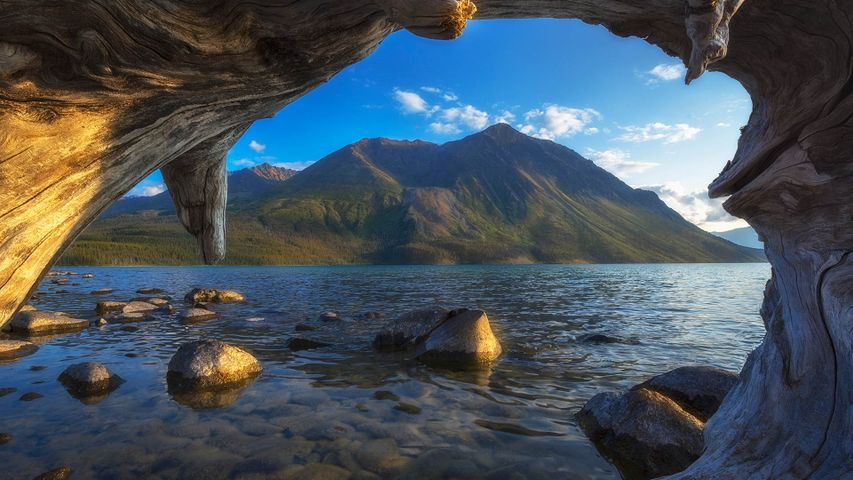 Kathleen Lake in Kluane National Park, Yukon