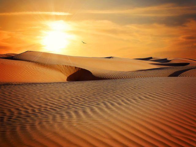 desert aeolian landform erg singing sand nature landscape blowout sahara