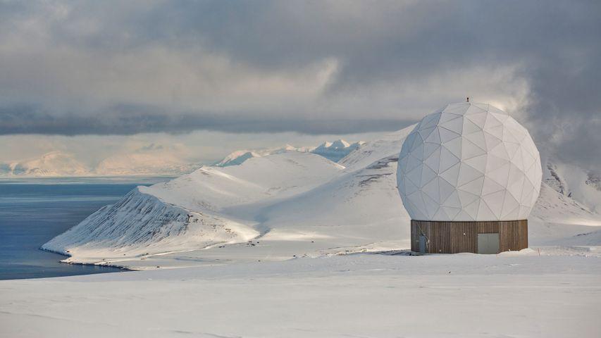 Svalbard Satellite Station, Svalbard Archipelago, Norway