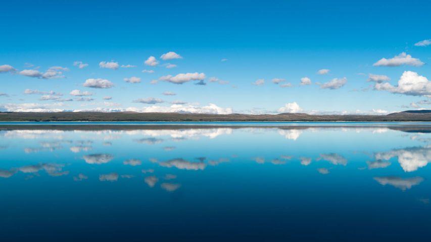 普卡基湖,新西兰南岛