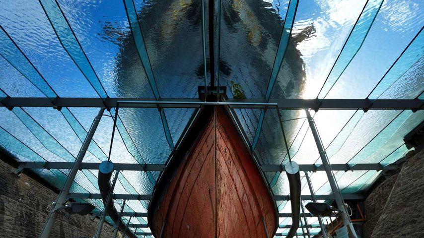 Proue du SS Great Britain, Bristol, Royaume-Uni