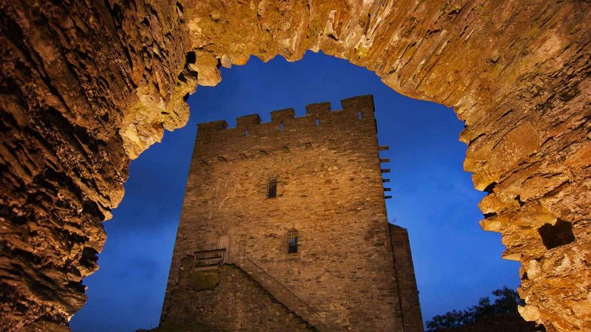 Château de Dolwyddelan, Pays de Galles, Royaume-Uni